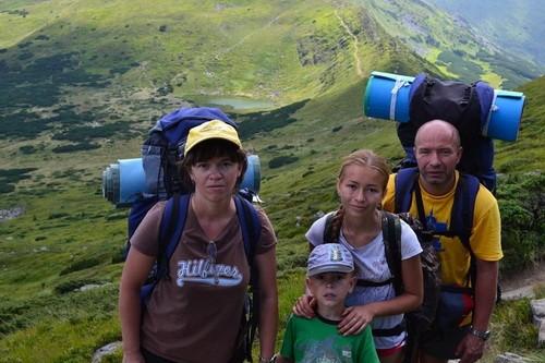 путешествие по Карпатам на Говерлу 2015 год